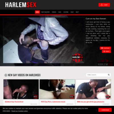 harlem sex interracial gay porn